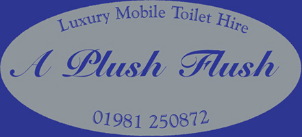 Award Winning Luxury Mobile Toilet hire from A Plush Flush of Herefordshire.